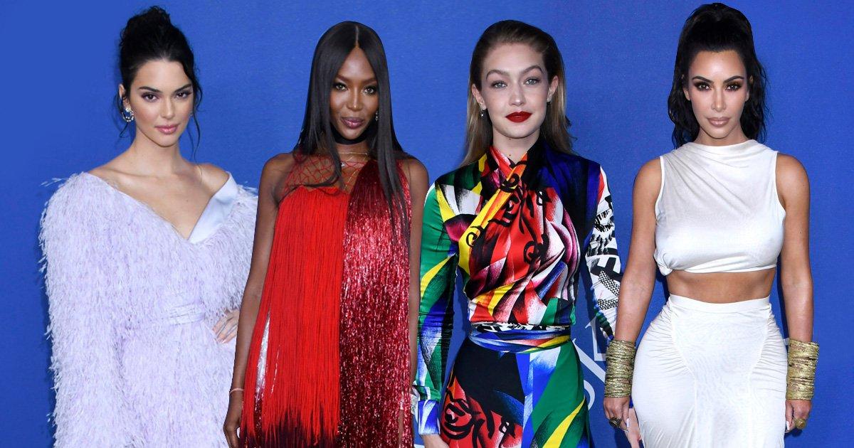 Kim Kardashian, Gigi Hadid and Kendall Jenner serve killer looks as they join fashion's biggest names at CFDAs