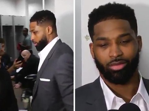 Tristan Thompson storms out of 'f*cked up' interview
