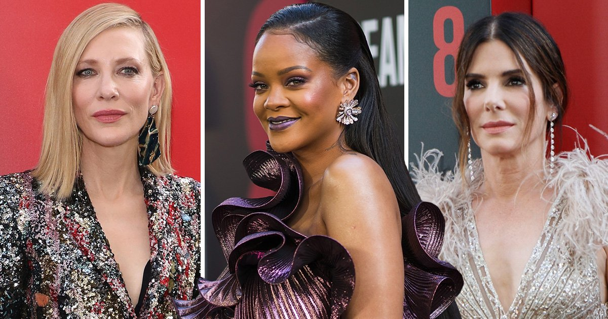 Rihanna, Sandra Bullock and Cate Blanchett are some seriously stylish cons at Ocean's 8 premiere