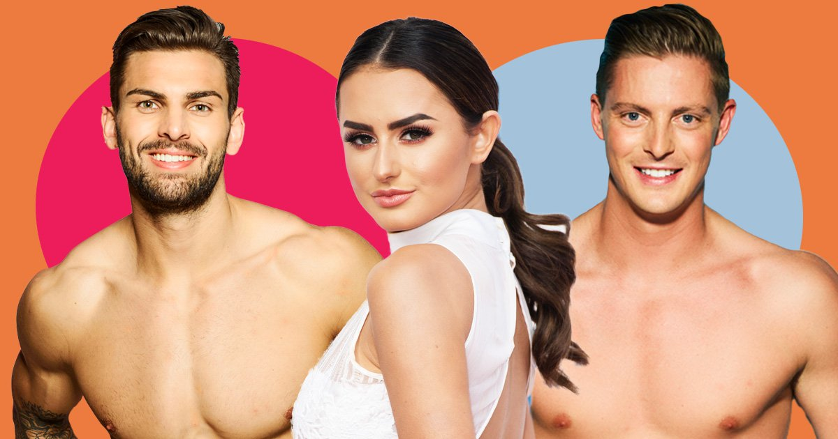 Amber Davies crushes hard on Love Island's Alex and Adam after splitting from boyfriend