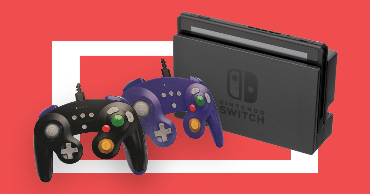 Nintendo might be bringing official Gamecube controllers to the Switch