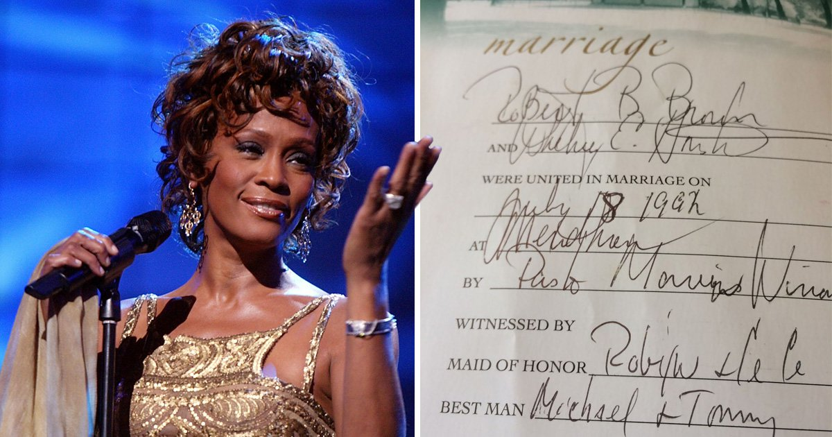 Whitney Houston's scribbled-in bible is for sale for $95,000