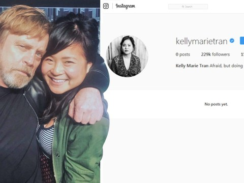 Mark Hamill demands Star Wars fans 'get a life' as Kelly Marie Tran leaves social media after months of abuse