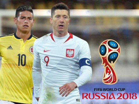 World Cup Group H: Robert Lewandowski a dark horse for the Golden Boot with Poland and Colombia favourites for top spot