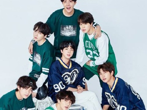 BTS celebrate their fifth anniversary with adorable family portrait and we're gonna need these pics framed