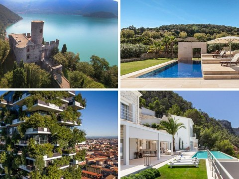 The top 10 most viewed overseas homes on Zoopla have been revealed