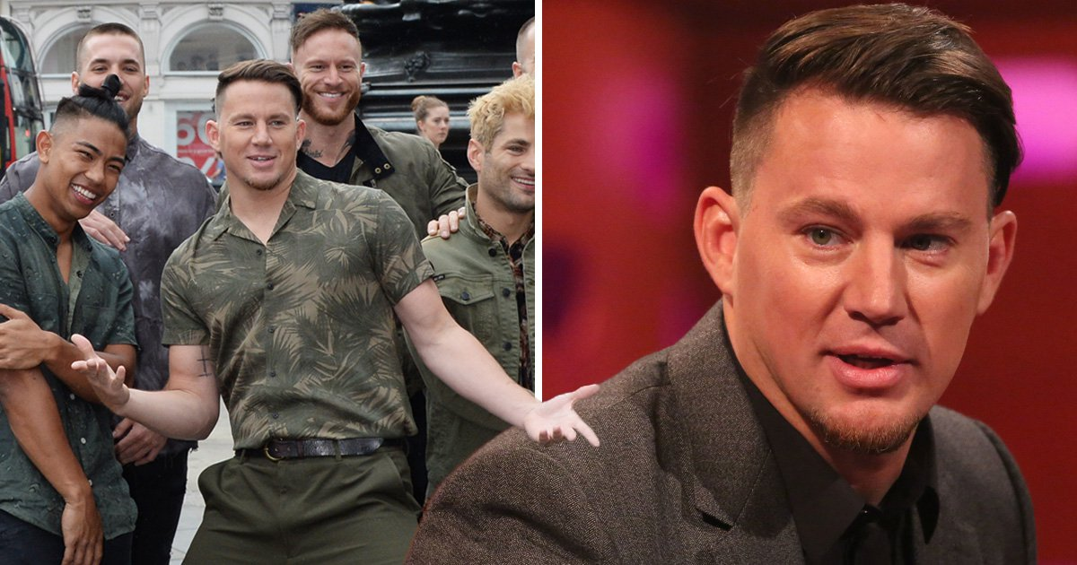 Channing Tatum claims fans won't be disappointed with the level of smut in Magic Mike Live