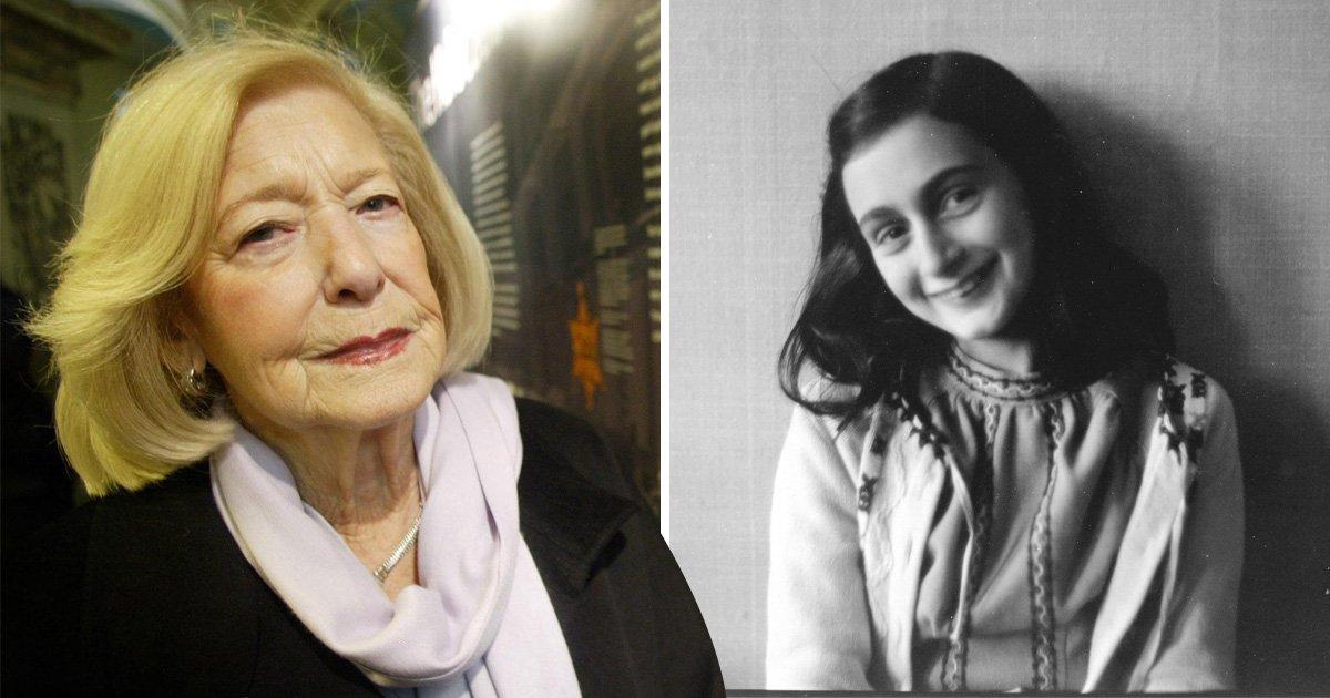 Holocaust survivor who nursed Anne Frank dies aged 95