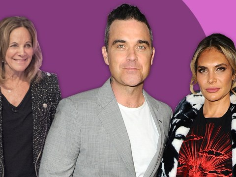 Robbie Williams wants to do a TV show with his mum-in-law Gwen but she's not so keen