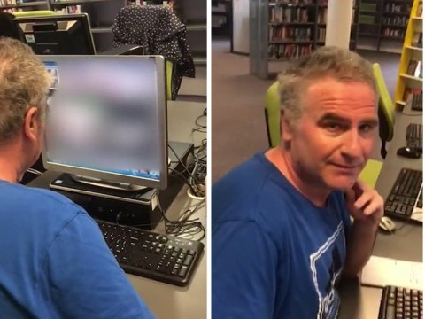 Man caught watching 'fat porn' on library computer