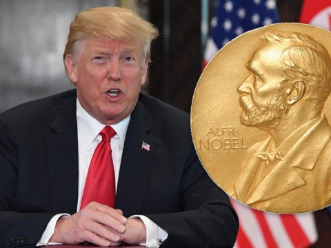 Donald Trump now 2/1 to win Nobel Peace Prize after historic summit with Kim Jong Un