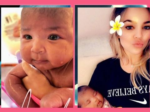 Khloe Kardashian is finding motherhood 'amazing' but still has a baby brain