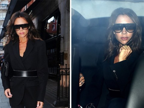 Victoria Beckham assures us that yes, she's still wearing her wedding ring after bizarre divorce rumours
