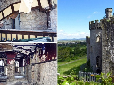 Doctor buys neglected Welsh castle decades after falling in love with it as a boy