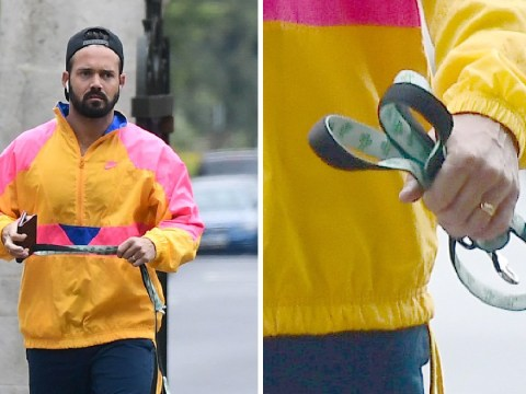 Spencer Matthews flashes wedding ring proving he's well and truly off the market