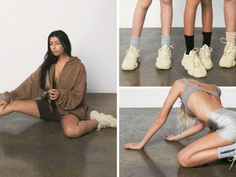 Kim Kardashian's naked bod inspires Kanye West's nude Yeezy campaign