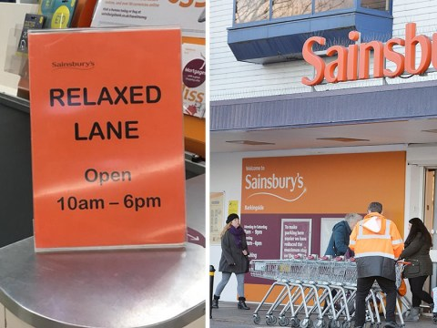 Sainsbury's trials new relaxed lane for people who need more time at the checkout
