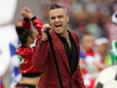 The world reacts to Robbie Williams' World Cup performance – and the verdict is he's turned into Morrissey