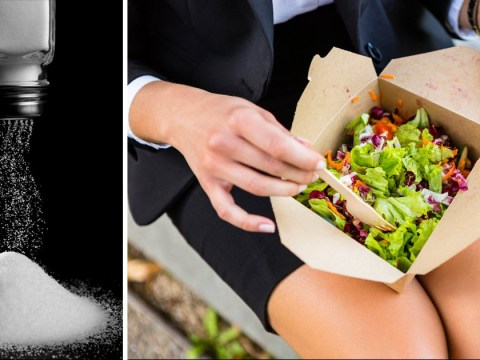 Some 'healthy' high street salads have more salt than a pizza