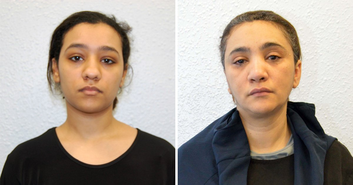 Mum and daughter Isis terror cell jailed for plotting Westminster attack