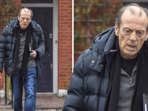 Leslie Grantham looked gaunt and frail in final pictures before his death