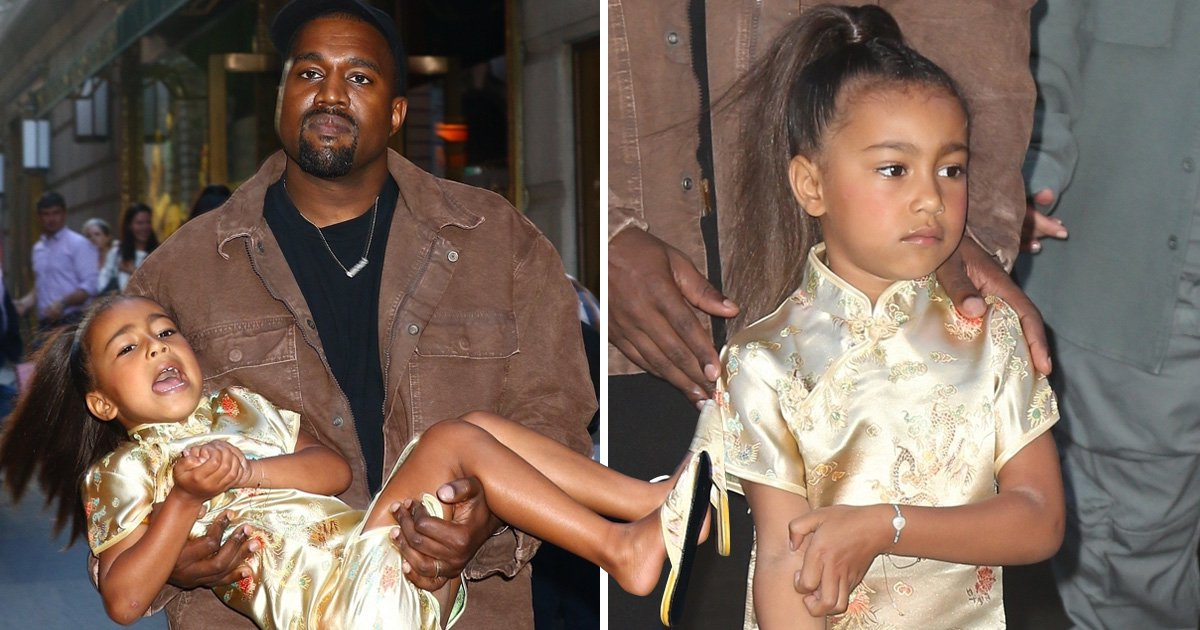 Kanye West loves birthday girl North – but he does not like his daughter's tantrums