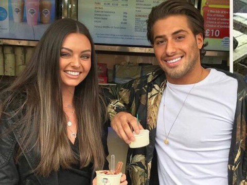 Love Island's Kendall looks all loved up as she takes Kem Cetinay on second date