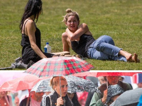 T-shirt weather on the way with the UK seeing 28C sunshine this week