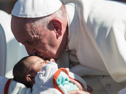 Pope Francis says abortion to avoid birth defects is like Nazi eugenics