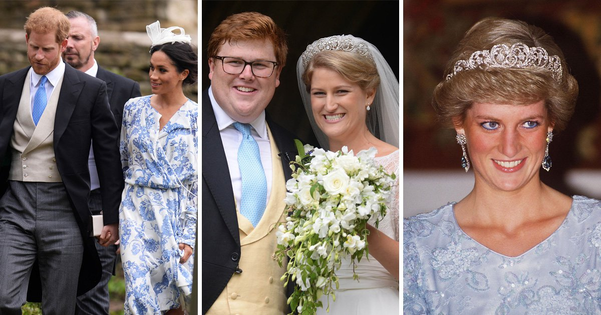 Who is Celia McCorquodale – Prince Harry's cousin who married at the weekend wearing Diana's Spencer tiara