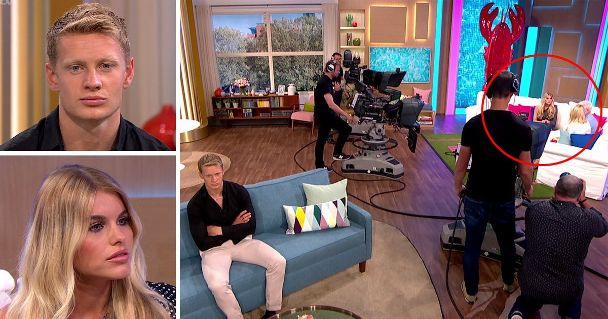 Love Island's Hayley and Charlie leave Phillip Schofield and Holly Willoughby baffled as they refuse to sit next to each other