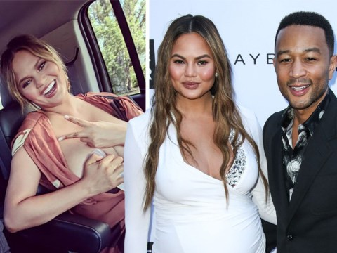 Chrissy Teigen gives honest look at post-birth date night pumping breast milk in the car before dinner