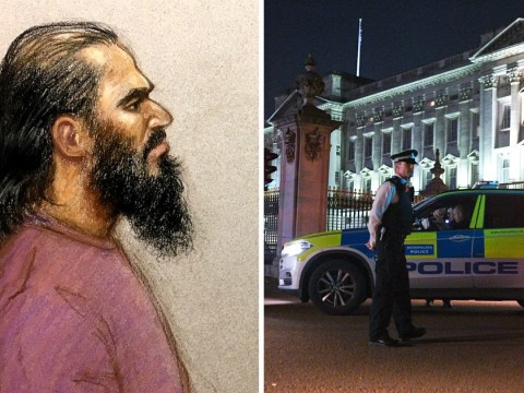 Uber driver 'who hated the Queen attacked cops with sword at Buckingham Palace'