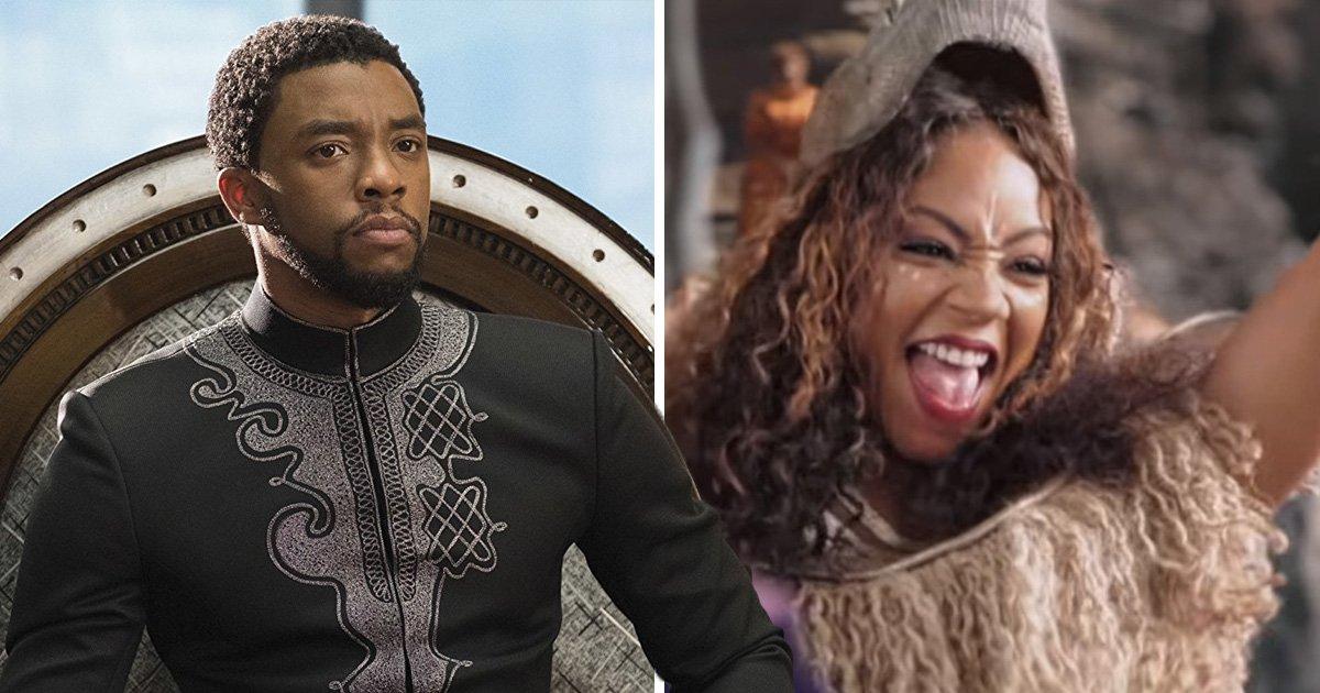 Watch Tiffany Haddish, Jada Pinkett Smith and Queen Latifah hilariously recreate Black Panther