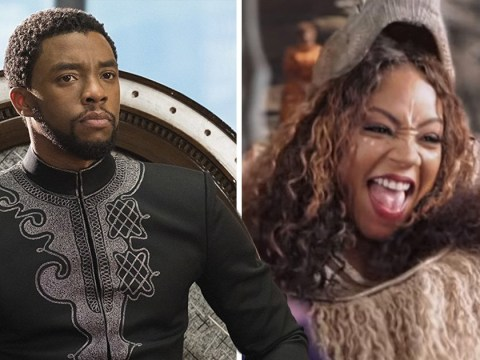 Watch Tiffany Haddish, Jada Pinkett Smith and Queen Latifah hilariously recreate Black Panther