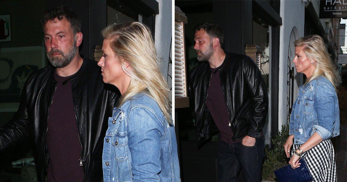 Sad Ben Affleck meme returns as he's spotted with girlfriend Lindsay Shookus