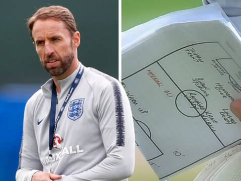 Dele Alli & Raheem Sterling out: Leaked notes appear to show Gareth Southgate's starting XI against Panama