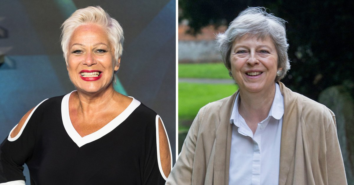 Denish Welch was desperate to play later life lesbian who lusts after Theresa May