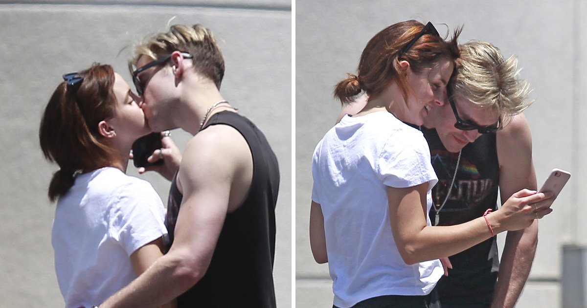 Emma Watson and Chord Overstreet prove those split rumours wrong as they share romantic kiss
