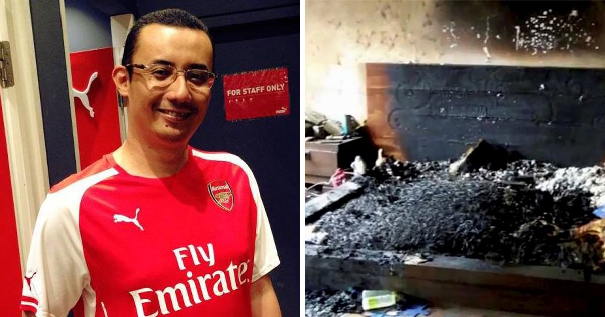 Tech boss dies after 'phone exploded while on charge in bed'