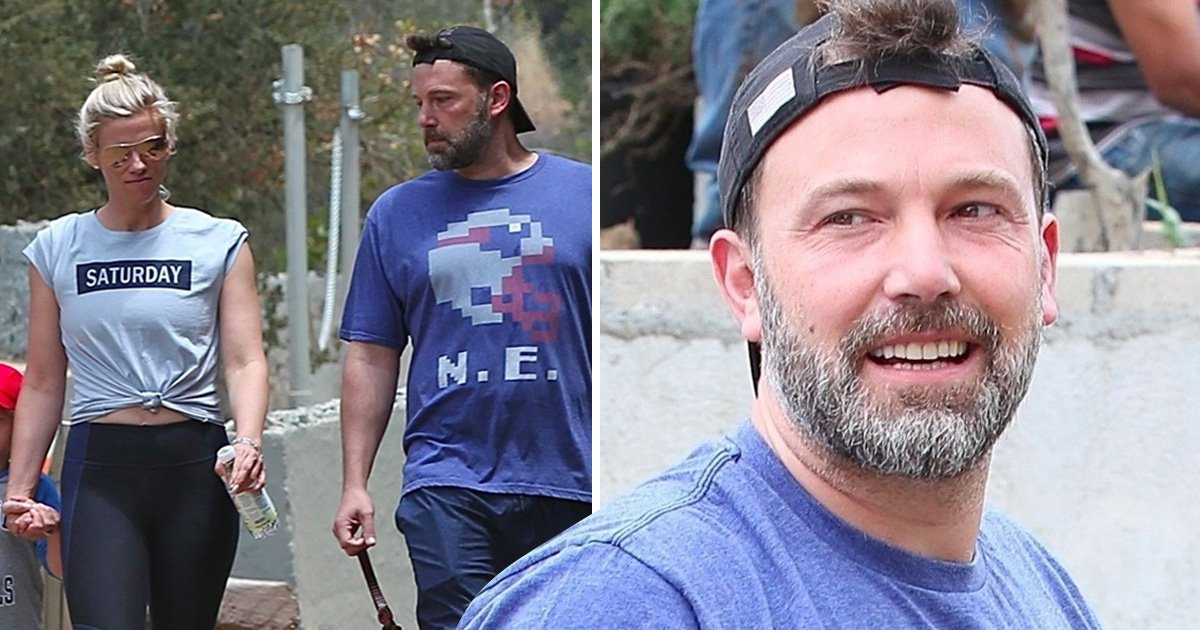 Ben Affleck is ultimate step-dad as he enjoys family hike with Lindsay Shookus and her daughter