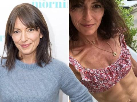 Davina McCall hits back at body shamers with defiant bikini selfie as she insists she's 'happy and healthy'