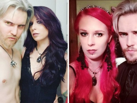 Polyamorous couple live as vampires, feeding on blood and sexual energy