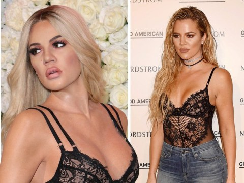 Khloe Kardashian's new waxwork looks exactly like her as it reps Christian Louboutin heels and designer lingerie