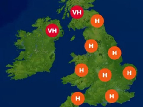 Hayfever sufferers warned to stay inside with pollen levels at 10-year high
