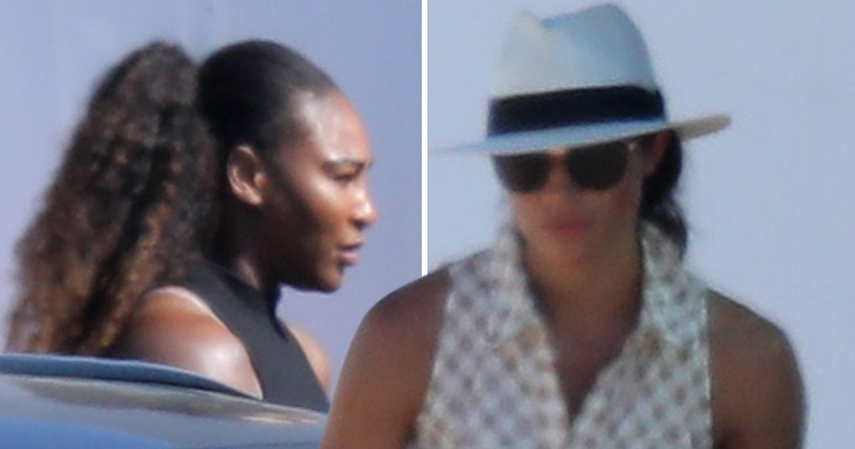 BFFs Meghan Markle and Serena Williams reunited at the polo for first time since Duchess of Sussex's wedding
