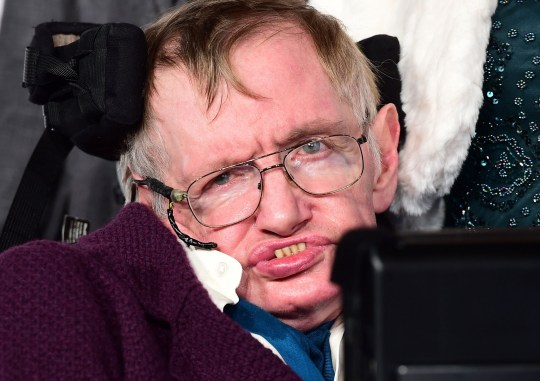 File photo dated 9/12/14 of Professor Stephen Hawking, as a ballot for tickets to the Westminster Abbey service of thanksgiving for the world-renowned cosmologist has opened to the public. PRESS ASSOCIATION Photo. Issue date: Wednesday May 9, 2018. See PA story FUNERAL Hawking. Photo credit should read: Ian West/PA Wire