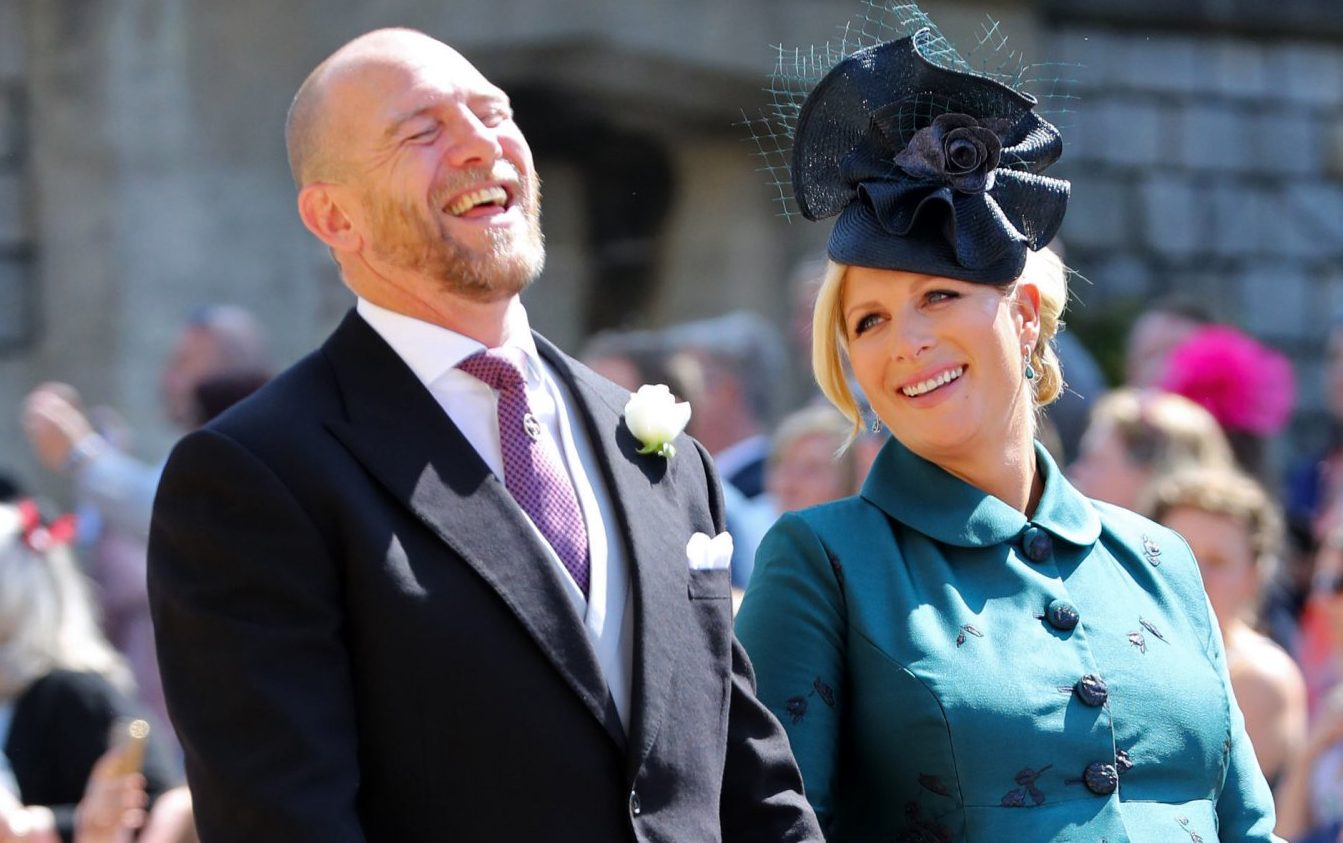 Mandatory Credit: Photo by REX/Shutterstock (9685437da) MIke Tindall and Zara Tindall The wedding of Prince Harry and Meghan Markle, Pre-Ceremony, Windsor, Berkshire, UK - 19 May 2018