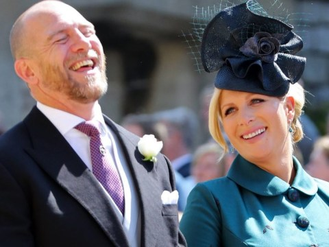 Mike Tindall has revealed how to pronounce daughter Mia's name
