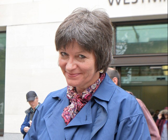 Blogger Alison Chabloz of Charlesworth, Glossop, Derbyshire, leaves Westminster Magistrates' Court, London, where she was found guilty of posting anti-Semitic songs online. PRESS ASSOCIATION Photo. Picture date: Friday May 25, 2018. See PA story COURTS Chabloz. Photo credit should read: Victoria Jones/PA Wire